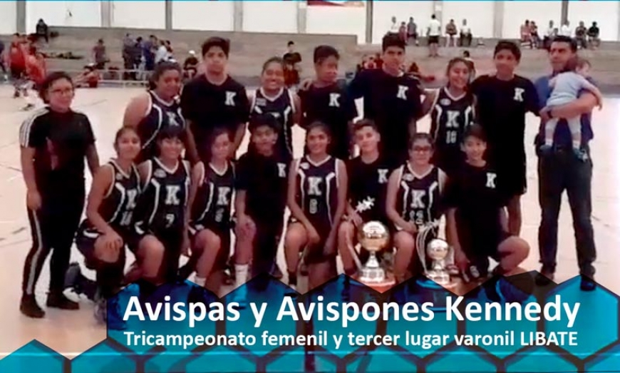 Kennedy Tricampeon en LIBATE